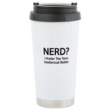 Nerd? Travel Coffee Mug