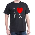 I Love TX Dark T-Shirt