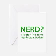 Nerd? Greeting Card