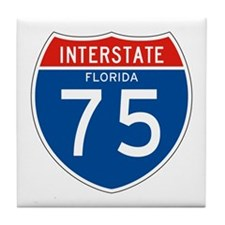 Interstate 75 - FL Tile Coaster