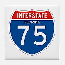 Interstate 75 - FL Tile Coaster