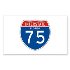 Interstate 75 - FL Rectangle Decal