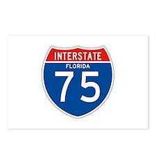 Interstate 75 - FL Postcards (Package of 8)