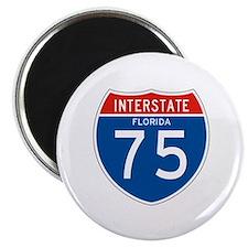 """Interstate 75 - FL 2.25"""" Magnet (10 pack)"""