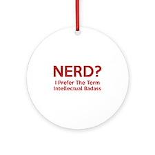Nerd? Ornament (Round)