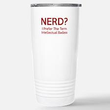 Nerd? Stainless Steel Travel Mug