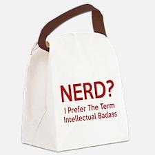 Nerd? Canvas Lunch Bag