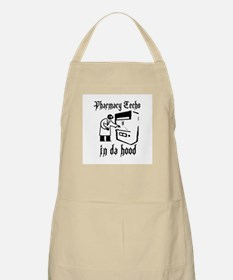 Pharmacy tech's in da hood BBQ Apron