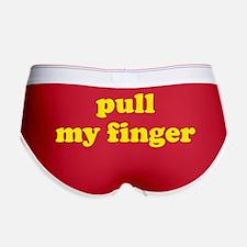 Pull My Finger Women's Boy Brief
