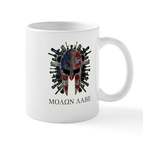 Molon Labe Come and Get Them Coffee Mug