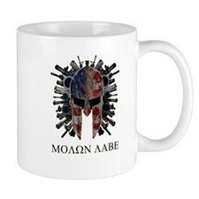 Molon Labe Come and Get Them Coffee Coffee Mug