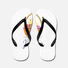 Easter Basket Jillian Flip Flops