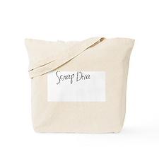Scrap Diva Black Tote Bag