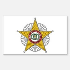 Two Sicilies Star (Italy Rectangle Decal