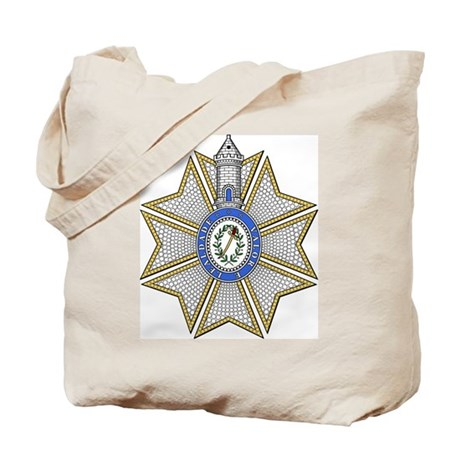 Tower and Sword (Portugal) Tote Bag