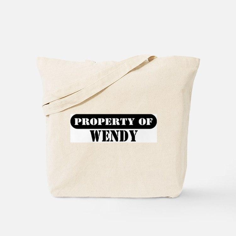 Property of Wendy Tote Bag