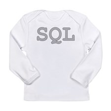 SQL: Structured Query Language Long Sleeve T-Shirt