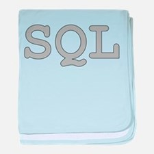 SQL: Structured Query Language baby blanket