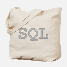 SQL: Structured Query Language Tote Bag