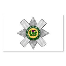 Thistle (Scotland) Rectangle Decal