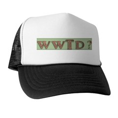 WWJD? and variations Trucker Hat