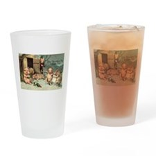 Drunken Pig Fitness Pub Drinking Glass