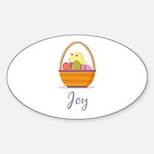 Easter Basket Joy Decal