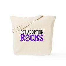 Pet Adoption Rocks Tote Bag