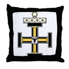Teutonic (Prussia, Germany) Throw Pillow