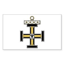 Teutonic (Prussia, Germany) Rectangle Decal