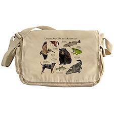 Louisiana State Animals Messenger Bag