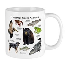 Louisiana State Animals Mug