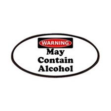 May Contain Alcohol Warning Patches