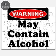 May Contain Alcohol Warning Puzzle