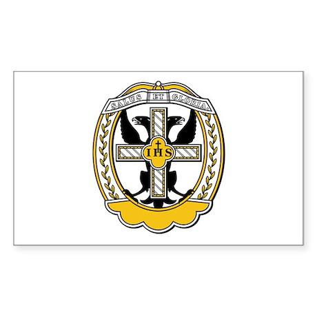 Order of The Starry Cross (Au Sticker (Rectangular