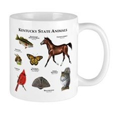 Kentucky State Animals Mug