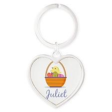 Easter Basket Juliet Keychains