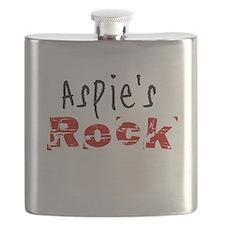 Aspie's Rock Flask