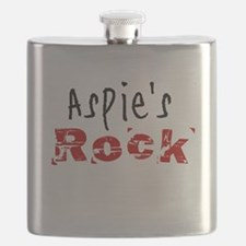 Aspie's Rock Flask