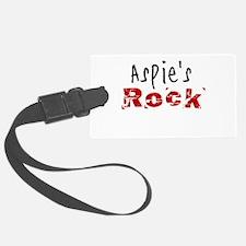 Aspie's Rock Luggage Tag