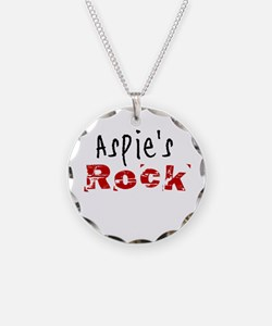 Aspie's Rock Necklace