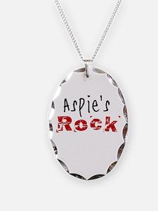 Aspie's Rock Necklace