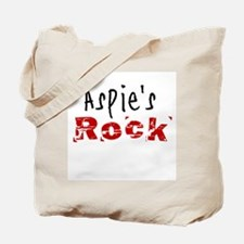 Aspie's Rock Tote Bag