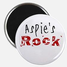 Aspie's Rock Magnet