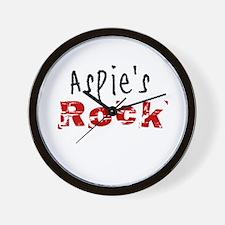 Aspie's Rock Wall Clock