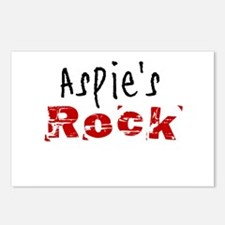 Aspie's Rock Postcards (Package of 8)