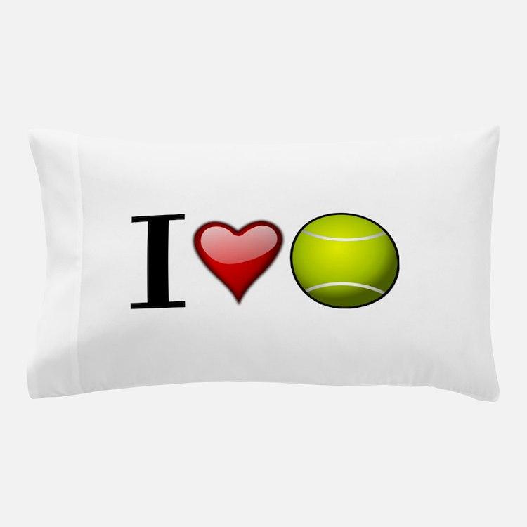 I heart tennis Pillow Case