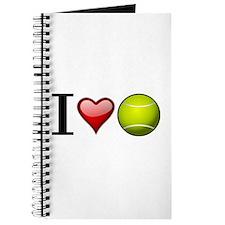I heart tennis Journal
