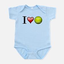 I heart tennis Body Suit