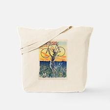 Paris Bike Tote Bag